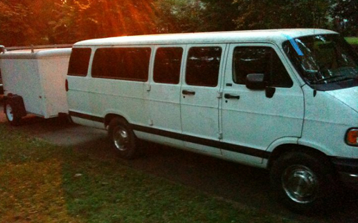 The GUAS-mobile, The Great White Tardis, Home Away From Home